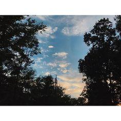 【_chi_co255】さんのInstagramをピンしています。 《明日は久しぶりの連休! どこか行きたいけど…台風が…。 お家でのんびりしましょーかね。 今日もお疲れさまでした!帰ります! . . #そら #空 #sky #雲 #clouds  #シルエット #silhouette  #森 #影 #夕焼け #sunset  #森林 #forest #空色 #ダレカニミセタイソラ  #お疲れさまでした》