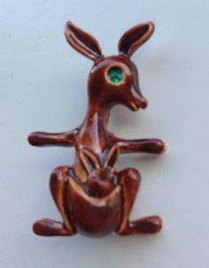 , Henna Body Art, Kangaroos, Vintage Brooches, Christmas Ornaments, Holiday Decor, Inspiration, Ebay, Home Decor, Aussies