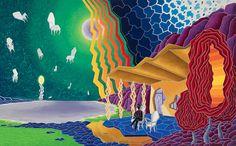 Attesa Oil on canvas 160x256 - 2011