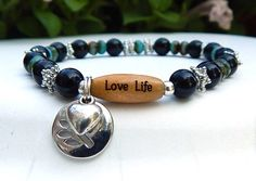 Love Life Happiness Bracelet withTree of Life Charm – BlueStoneRiver