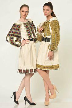 ROCHIE VINTAGE MOTIVUL OLTENIA 5 - UNICA Bohemian, Traditional, Inspiration, Vintage, Style, Fashion, Biblical Inspiration, Swag, Moda