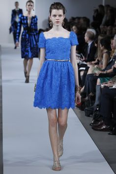 Resort 2013 Trend: How Sweet It Is  (Oscar de la Renta Resort 2013)