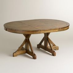 Image result for oval farmhouse kitchen table with extension