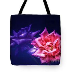 "Two Roses Tote Bag 18"" x 18"""
