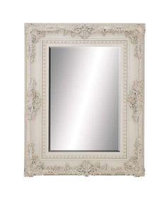 Vivian White Ornate Decorative Mirror