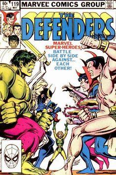 Defenders Vol 1 119 Marvel Comics Superheroes, Marvel Comic Books, Marvel Vs, Comic Book Heroes, A Comics, Defenders Comics, Marvel Series, Classic Comics, Comic Book Covers