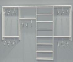 Trendy Ideas reach in closet remodel