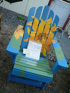 """The Palouse-Clearwater Environmental Institute that I founded 25 years ago, had a weekend fundraiser, """"25 chairs for 25 years."""""""
