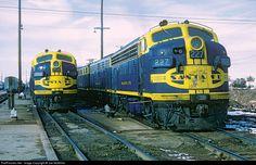 RailPictures.Net Photo: ATSF 227 Atchison, Topeka & Santa Fe (ATSF) EMD F7(A) at Winslow, Arizona by Joe McMillan