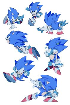 sonic CD sketches by Shira-hedgie