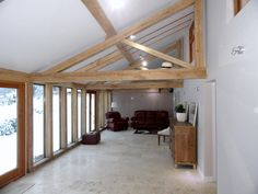 how to build a timber mono pitch roof frame - Google Search