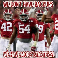 2017 Bama loses of its experienced line backers. Roll Tide Alabama, Alabama Crimson Tide, Crimson Tide Football, Alabama Baby, Championship Football, Sec Football, College Football Teams, Oregon Ducks Football, Ohio State Football