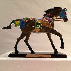 Trail of the Painted Ponies THE FRONT RUNNER 1E/1,508  ITEM #  4018391 By ENESCO