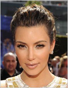 Kim Kardashian natural makeup..