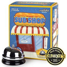 Sub Shop Board Game by Imagination Generation -- Continue to the product at the image link.Note:It is affiliate link to Amazon.
