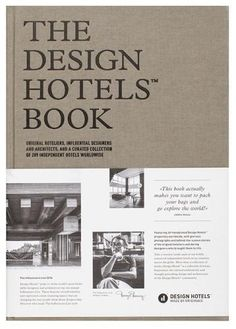 The Design Hotels# Book: Edition 2016: Design Hotels