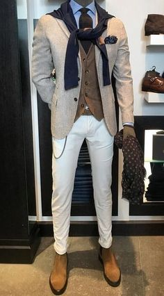 Gentleman Style – - Dress World for Men Fashion Moda, Suit Fashion, Mens Fashion, Chic For Men, Stylish Men, Smart Casual Wear, Men Casual, Indie Hipster Fashion, Best Dressed Man