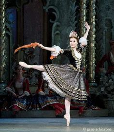 Really cool 18th century inspired ballet costume