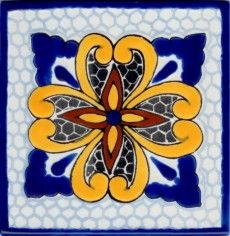 porcelain talavera tile colonial 9 small