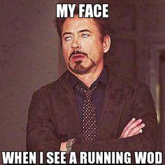 Literally lol... crossfit running wod