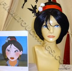 Mulan Wig by: Final Touch Wigs