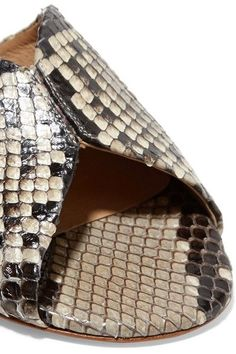 Gabriela Hearst - Julie Python Slides - Snake print - IT38.5