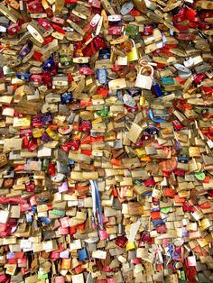Love Locks - seen Hohenzollern Bridge Cologne romantic place Love Lock, Most Romantic Places, Places In Europe, Cologne, Locks, Bridge, Photography, Photograph, Door Latches