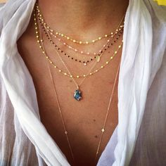 feeling it #summer #scarf #jewelry #bijou