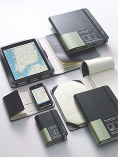 モレスキン iPad & iPhoneケースはノートとセットの画像   Sumally