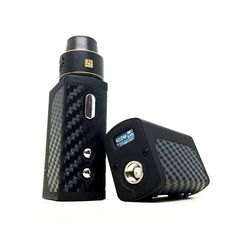 This compact box mod by Council of Vapor is one of the smallest vape mods on the market. The mini volt features 40 watts of output with responsive firing.