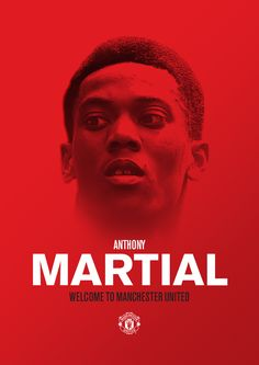 """Anthony Martial said: """"I am so excited to be joining Manchester United. Fifa Covers, Official Manchester United Website, Anthony Martial, Fifa 17, As Monaco, Match Highlights, James Rodriguez, Manchester United Football, Football Wallpaper"""