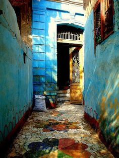 I want to live here. #blue