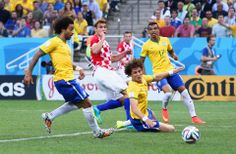 Marcelo's Own Goal - FIFA World Cup 2014