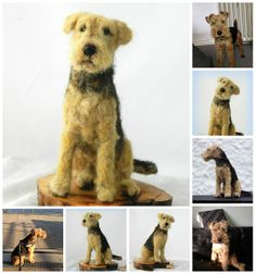welsh terrier 'ronja' needle felted | Flickr - Photo Sharing!