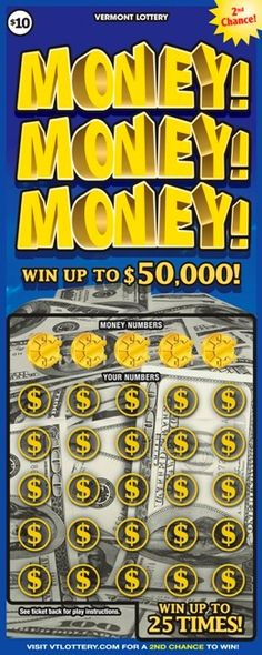 Vermont Lottery -- Play a little!
