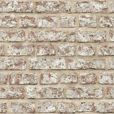 Arthouse Red Rustic Brick Wallpaper   Departments   DIY at B&Q