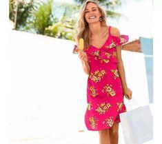 Šaty s potiskem | vyprodej-slevy.cz #vyprodejslevy #vyprodejslecycz #vyprodejslevy_cz #sukne #saty #sleva #akce Lily Pulitzer, Cold Shoulder Dress, Dresses, Fashion, Gowns, Moda, La Mode, Lilly Pulitzer, Dress