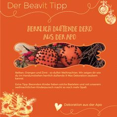 Duftende Deko aus der Apotheke Blog, Movie Posters, Beauty, Apothecary, Bricolage, Tips And Tricks, Round Round, Health, Deco