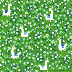 Como Se Llama? Green Pattern | Happy Go Lucky Creations