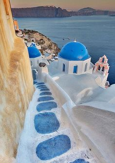 """Santorini Greece Travel Beautiful Places Take a Holiday's Tour to Beautiful Villages of Santorini Island Greece Santorini Greece Travel Beautiful Places. Santorini, officially known as """"… Places Around The World, Oh The Places You'll Go, Places To Travel, Places To Visit, Around The Worlds, Travel Stuff, Vacation Destinations, Dream Vacations, Holiday Destinations"""