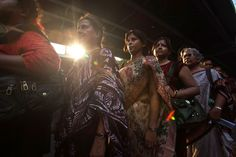 ONE VOICE: Women activists marched at a rally against rape in Kolkata Tuesday. (Nicky Loh/Getty Images)