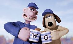 Wallace and Gromit :)