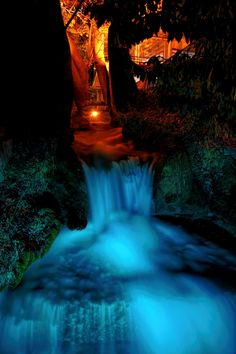 Waterfall in Edessa, Greece