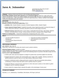 Electrical Engineer Resume Pinsophia Carter On Electrical Engineering Ai  Pinterest .
