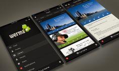WERMZ, U.S.  |  iPhone app UI design