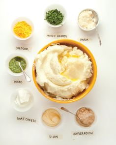 Mashed Potatoes many ways from themom100.com