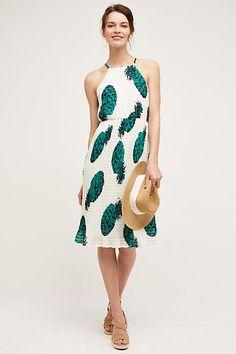 Pineapple Midi Dress - anthropologie.com