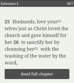 Ephesians 5:25-26