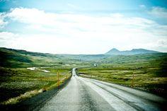 Unterwegs auf der A1 auf Island im Jahr 2014