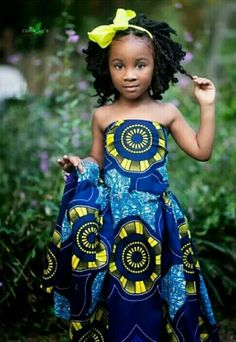 Ankara Styles For Kids; Little Girls And Baby Girls Ankara Styles Ankara Styles For Kids, African Dresses For Kids, African Babies, Trendy Ankara Styles, African Children, African Clothes, Kente Styles, African Inspired Fashion, African Print Fashion